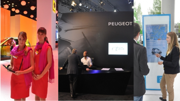 5 exemples de tablettes au salon IAA